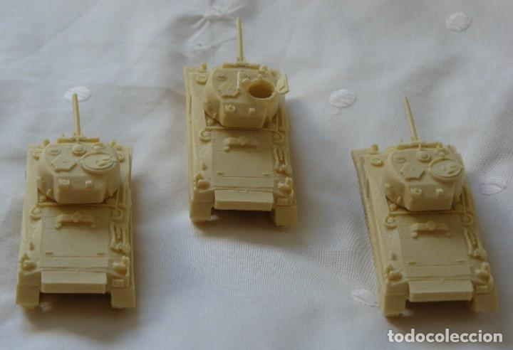 Maquetas: 1/72 o 20mm SECCIÓN DE 3 SHERMAN BRITANICOS EN RESINA - Foto 4 - 165185066