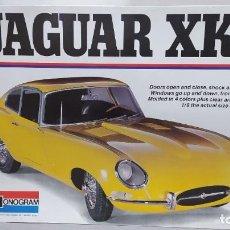 Maquetas: JAGUAR XKE MONOGRAM ESCALA 1/8. NUEVO, TODO PRECINTADO.. Lote 244657155