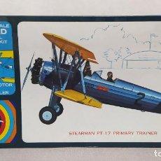 Maquetas: STEARMAN PT-17 PRIMARY TRAINER LINDBERG ESCALA 1/4 INCH. NUEVO. Lote 244682475