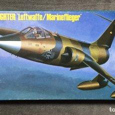 Maquetas: F-104G STARFIGHTER LUFTWAFFE/MARINEFLIEGER 1:72 HASEGAWA. Lote 244689755
