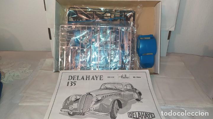 Maquetas: Delahaye 135 Heller escala 1/24. Nuevo, bolsas precintadas. - Foto 3 - 245289055