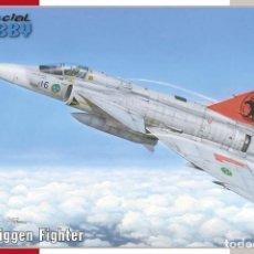 Maquetas: SPECIAL HOBBY 72384 # 1/72 JA-37 VIGGEN. Lote 245296635