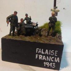 Maquetas: DIORAMA MILITAR MAQUETA- FALAISE -FRANCIA 1943. Lote 244822695