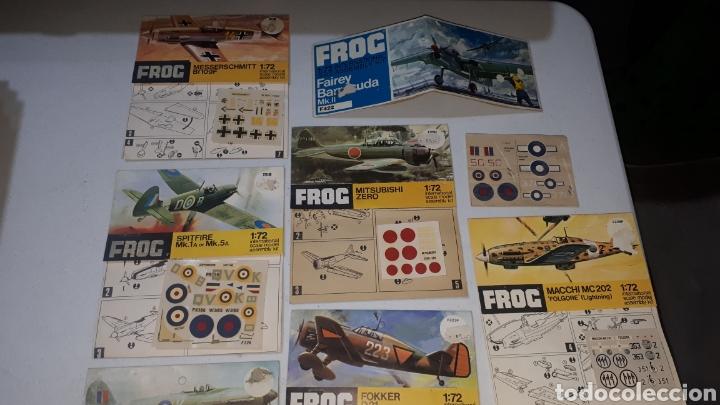 Maquetas: Lote 10 pegatinas aviones FROC escala 1:72 leer descripción - Foto 2 - 245370690