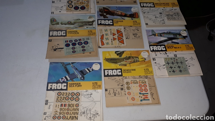 Maquetas: Lote 10 pegatinas aviones FROC escala 1:72 leer descripción - Foto 3 - 245370690