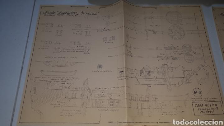 Maquetas: Planos maqueta NAVIO SANTÍSIMA TRINIDAD CASA REYNA AÑOS 60 - Foto 3 - 245382535