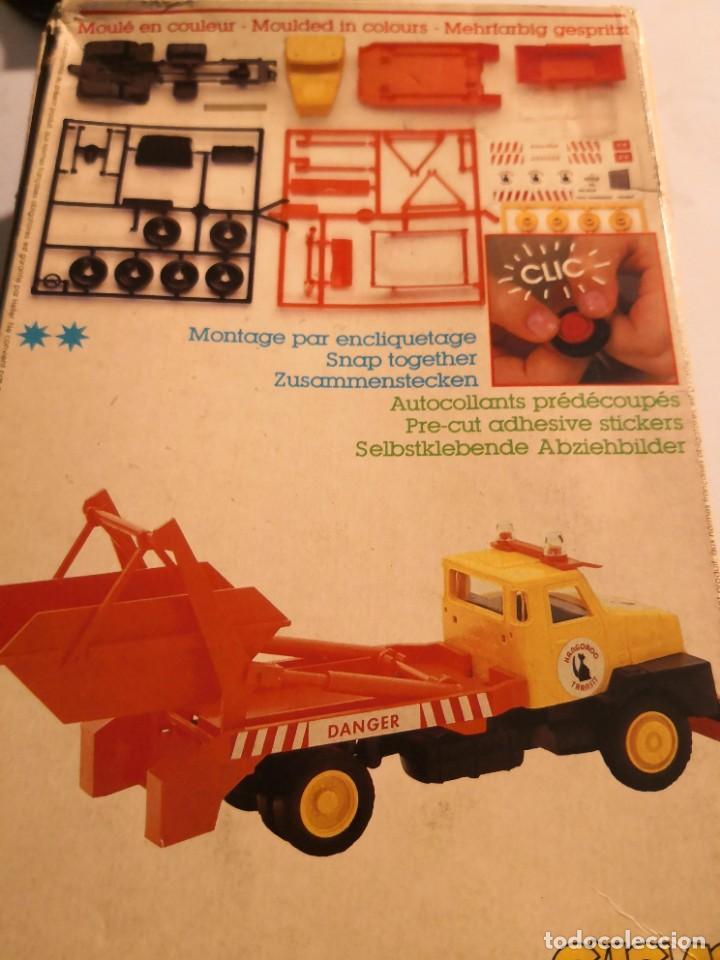 Maquetas: Maqueta vlclac HELLER.. VOLVO TRANSPORTER MADE IN FRANCIA. Nueva caja con defecto. Montaje clic - Foto 5 - 245502075