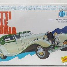 Maquetas: 1931 BUGATTI ROYALE VICTORIA DE LINDBERG LINE. PRECINTADO SIN ABRIR.. Lote 245578590