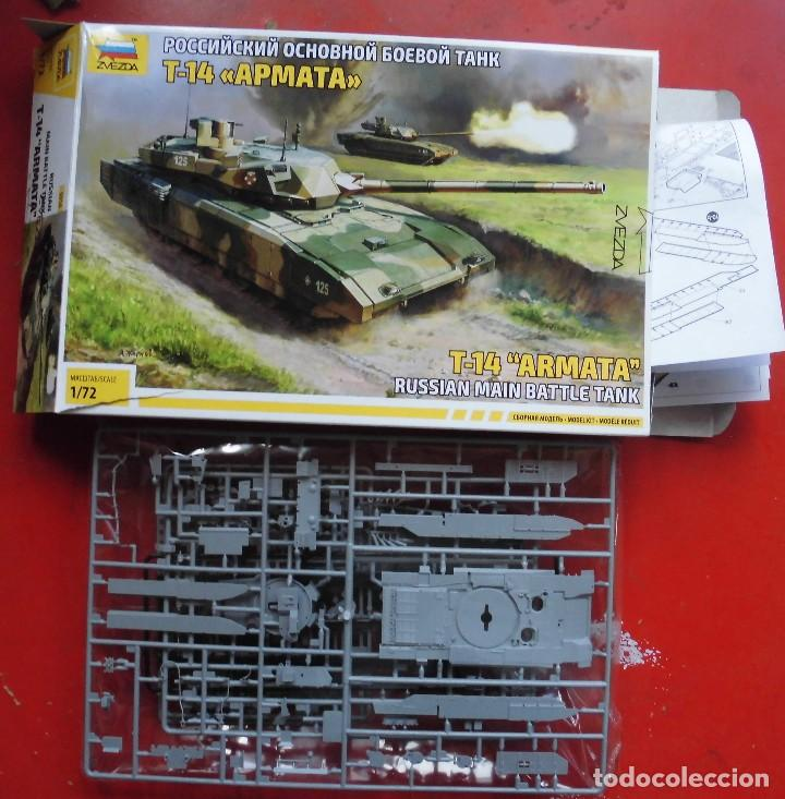 T-14 ARMATA. ZVEZDA. ESCALA 1/72. MODELO NUEVO (Juguetes - Modelismo y Radiocontrol - Maquetas - Militar)