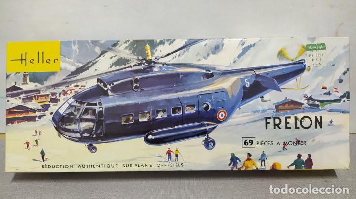 FRELON HELLER ESCALA 1/50 REF L 325, AÑO 1963. NUEVO, BOLSA PRECINTADA (Juguetes - Modelismo y Radio Control - Maquetas - Aviones y Helicópteros)