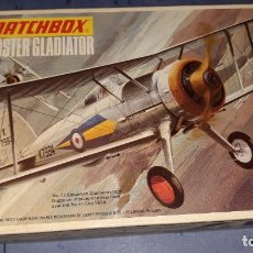 Maquetas: GLOSTER GLADIATOR. MATCHBOX 1/72. Lote 245932035