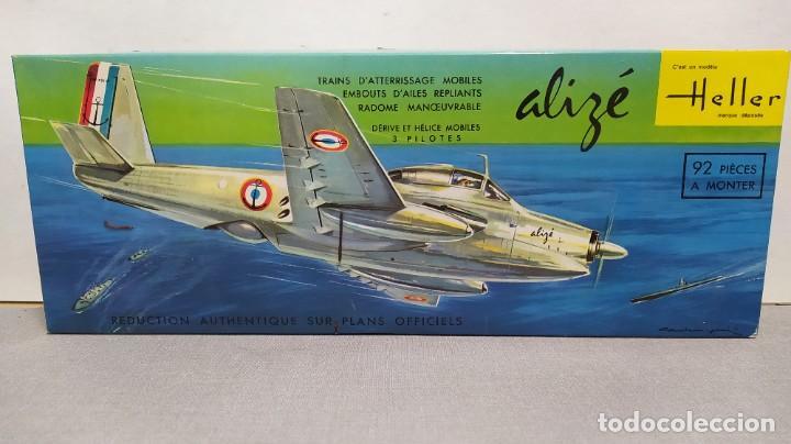 ALIZE HELLER ESCALA 1/50 REF L 505 AÑO 1960. NUEVO, BOLSA PRECINTADA (Juguetes - Modelismo y Radio Control - Maquetas - Aviones y Helicópteros)