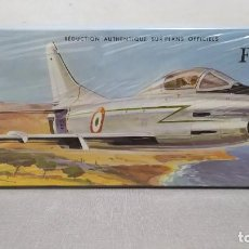 Maquetas: FIAT G. 91 HELLER ESCALA 1/50 REF L 120 AÑO 1960. NUEVO, BOLSA PRECINTADA. Lote 246079240