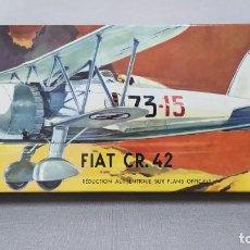 Maquetas: FIAT CR 42 HELLER ESCALA 1/50 REF L 295 AÑO 1964. NUEVO. Lote 246080620