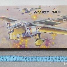 Maquetas: AMIOT 143 HELLER ESCALA 1/72 REF L 390 AÑO 1970. NUEVO.. Lote 246087650