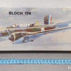 Maquetas: BLOCH 174 HELLER ESCALA 1/72 REF L 393 AÑO 1968. NUEVO BOLSA PRECINTADA.. Lote 246088785