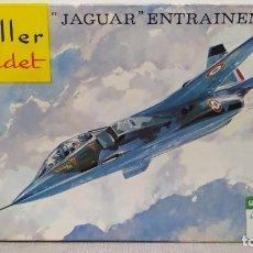 Maquetas: JAGUAR ENTRAINEMENT HELLER CADET ESCALA 1/72 . NUEVO BOLSA PRECINTADA.. Lote 246100300