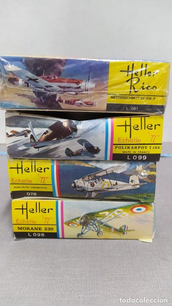 Maquetas: Lote 4 aviones Heller escala 1/72 . Años 60. Nuevos, bolsas Precintadas. - Foto 2 - 246101325