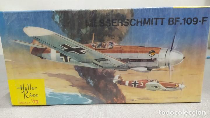 Maquetas: Lote 4 aviones Heller escala 1/72 . Años 60. Nuevos, bolsas Precintadas. - Foto 3 - 246101325
