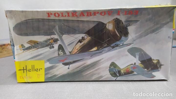 Maquetas: Lote 4 aviones Heller escala 1/72 . Años 60. Nuevos, bolsas Precintadas. - Foto 4 - 246101325