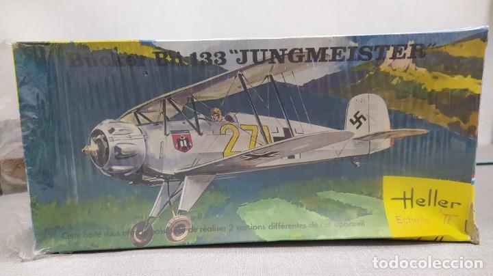 Maquetas: Lote 4 aviones Heller escala 1/72 . Años 60. Nuevos, bolsas Precintadas. - Foto 5 - 246101325
