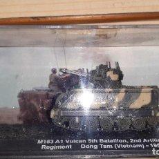 Maquettes: M 163 A1 VULCAN. CARROS DE COMBATE ALTAYA 1/72. Lote 246115000