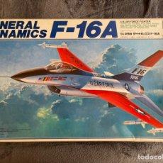 Maquetas: GENERAL DINAMICS F-16A 1:32 HASEGAWA MAQUETA AVION. Lote 246247010
