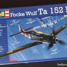 Maquetas: FOCKE WULF TA-152 H. REVELL ESCALA 1/72 MODELO NUEVO.. Lote 246666950