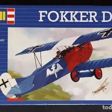 Maquetas: FOKKER D.VII. REVELL ESCALA 1/72 MODELO NUEVO. Lote 246667330