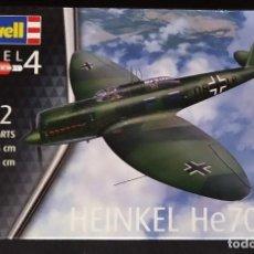 Maquetas: HEINKEL HE-70 F-2. REVELL ESCALA 1/72 MODELO NUEVO.. Lote 246667765
