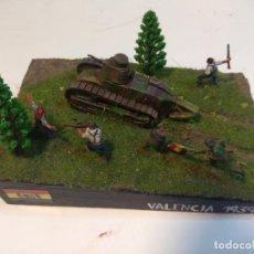 Maquetas: DIORAMA MAQUETA GUERRA CIVIL ESPAÑOLA - VALENCIA 1939. Lote 246797260