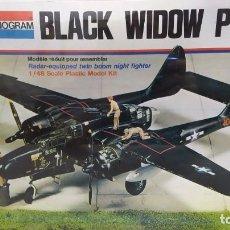 Maquetas: BLACK WIDOW P-61 MONOGRAM SSCALA 1/48. AÑO 74 NUEVO, CAJA PRECINTADA.. Lote 246887615