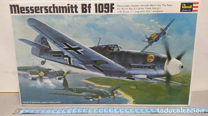 MESSERSCHMITT BF 109F REVELL AÑO 67 NUEVO. (Juguetes - Modelismo y Radio Control - Maquetas - Aviones y Helicópteros)