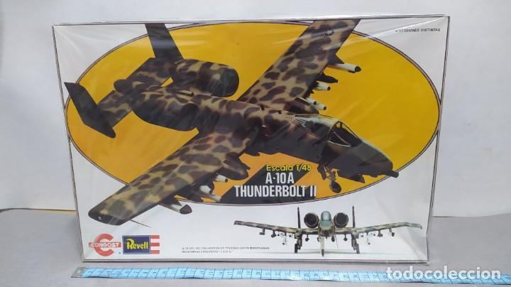 A-10A THUNDERBOLT II REVELL ESCALA 1/48 AÑO 80. NUEVO. BOLSAS PRECINTADAS (Juguetes - Modelismo y Radio Control - Maquetas - Aviones y Helicópteros)