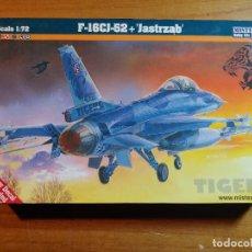 Maquetas: MAQUETA DE AVIÓN F - 16CJ - 52 + JASTRZAB ESCALA 1/72. Lote 247182390