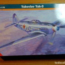 Maquetas: MAQUETA DE AVION YAKOVLEV YAK - 3 ESCALA 1/72. Lote 247185525