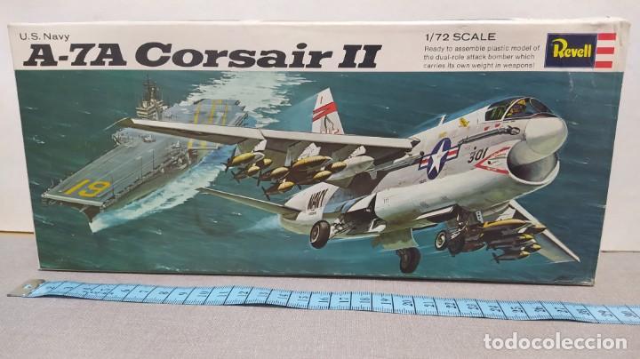 U. S. A-7A CORSAIR II REVELL AÑO 68. NUEVO. BOLSA PRECINTADA (Juguetes - Modelismo y Radio Control - Maquetas - Aviones y Helicópteros)