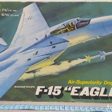 Maquetas: MCDONNELL DOUGLAS F-15 EAGLE REVELL AÑO 74. NUEVO. BOLSA PRECINTADA. Lote 247193655