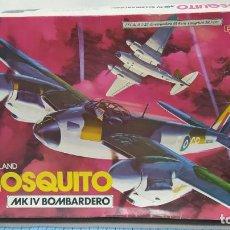 Maquetas: DE HAVILLAND MOSQUITO MK IV BOMBARDERO 1/32 REVELL AÑO 80 NUEVO. BOLSA PRECINTADA. Lote 247308575