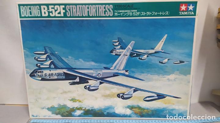 BOEING B-52F STRATOFORTRESS TAMIYA 1/100 AÑO 70. NUEVO BOLSAS PRECINTADAS. (Juguetes - Modelismo y Radio Control - Maquetas - Aviones y Helicópteros)