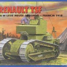 Maquettes: MAQUETA CARRO RENAULT TSF, REF. 72209, 1/72, RPM. Lote 248624040
