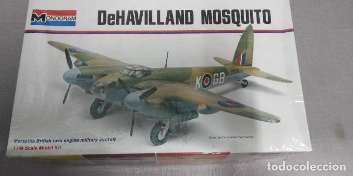 DEHAVILLAND MOSQUITO MONOGRAM1/48 (Juguetes - Modelismo y Radio Control - Maquetas - Aviones y Helicópteros)