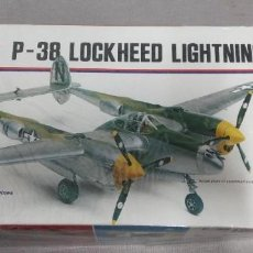 Maquetas: P-38 LOCKHEDD LIGHTNING MONOGRAM1/48. Lote 248977585