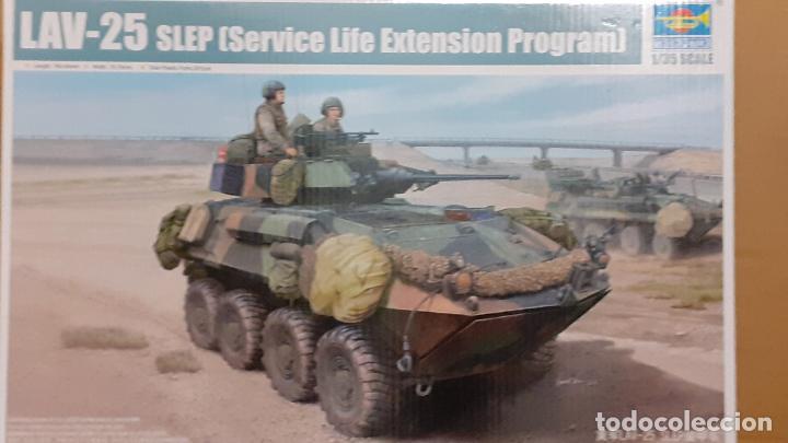 LAV 25 SLEP. TRUMPETER 1/35 (Juguetes - Modelismo y Radiocontrol - Maquetas - Militar)