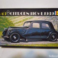 Maquetas: CITROEN 11 CV L 1939 MAQUETA HELLER 1/43 NUEVA. Lote 249595330