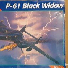 Maquetas: NORTHROP P 61 BLACK WIDOW. MONOGRAM 1/48. Lote 250117110