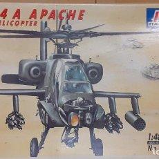 Maquetas: AH 64 A APACHE. ITALERI 1/48. Lote 250117180
