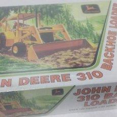 Maquettes: JOHN DEERE 310 BACKHOE LOADER ERTL 1/25. Lote 250137350