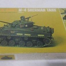 Maquetas: U.S. ARMY M-4 SHERMAN TANK DE REVELL. Lote 250142445
