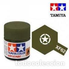 Maquettes: TAMIYA - XF62 OLIVE DRAB. Lote 251097235